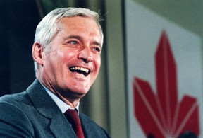 """Former Liberal cabinet minister John Turner smiles during announcement that he is seeking the leadership of the Liberal Party in a 1984 file photo. Former prime minister Turner, dubbed """"Canada's Kennedy"""" when he first arrived in Ottawa in the 1960s, died in September. He was 91. File photo/Canadian Press"""