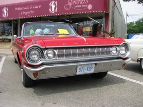 Jim and Angie Regnier own this 1964 Dodge Polara 500, on display at the car show in Blenheim a few years ago. Peter Epp