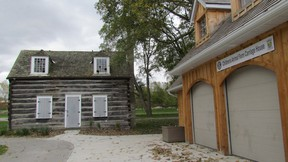 Sarnia council approved paying $56,375 to relocate the  historical log cabin in Canatara Park to the Lambton Heritage Museum. File photo/Postmedia Network