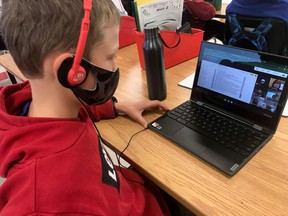 All 5,000 staff and students across the Huron-Perth Catholic District School Board now have Chromebook laptops, allowing learning to continue regardless of whether schools are physically open. (Submitted photo)