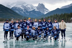 The AJHL Canmore Eagles reported their first COVID-19 case on Nov. 19 via their team website after a player initially felt sick after playing a game in Drumheller. Photo submitted.