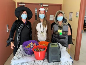 Espanola Nursing Home staff continue to create holiday activities for the residents with limitations due to the pandemic this year.