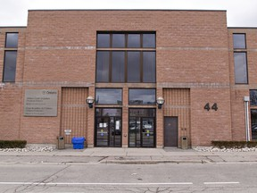 The Ontario Court building at 44 Queen Street in Brantford, Ontario. Brian Thompson/Brantford Expositor/Postmedia Network