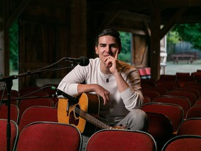 Jordan Mowat, Ojibway Drummer and singer-songwriter, will perform at November's Digital Concert at Campbellford's Westben Theatre Saturday, November 21. SUBMITTED PHOTO