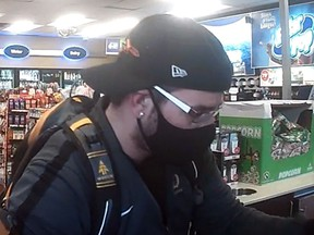 A man wanted by Kingston Police in connection to a break and enter in the Barriefield area.