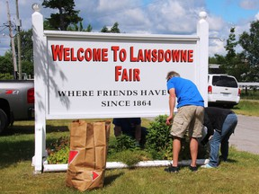 The Lansdowne Agricultural Society is selling takeout roast beef dinners with all the fixings for $20 a head on November 21 to help raise funds to do necessary repairs and improvements to the fairgrounds and buildings.  Lorraine Payette/for Postmedia network