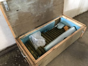 The Alberta RCMP explosives disposal unit has located and disposed of a variety of explosive materials so far this year.