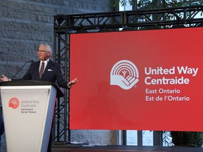 As the president and CEO of United Way East Ontario, Michael Allen is leading his agency through a transformational time. Submitted photo