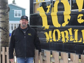Mario Dussault, the founder of the Yo! Mobile, has been operating this virtual soup kitchen and warming station on wheels for the past 10 years.  Dariya Baiguzhiyeva/Local Journalism Initiative