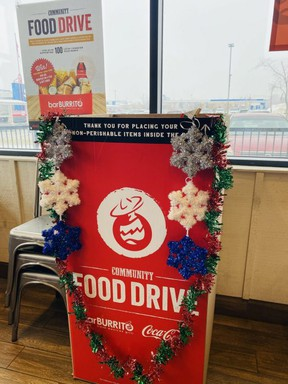 BarBurrito Canada has launched a cross-Canada campaign where it has paired with local food banks across Canada to drive up donations. Photo Supplied