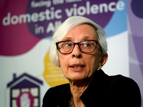 Jan Reimer, executive director of Alberta Council of Women's Shelters. LARRY WONG/POSTMEDIA File