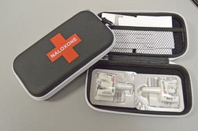 With local overdoses and opioid-related deaths on the rise, the North Bay and Parry Sound District Health Unit is reminding the public it offers naloxone kits and training.  Postmedia File Photo