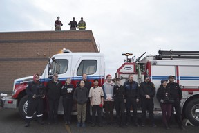 A 2018 photo of the Peace River Rooftop Campout in support of Muscular Dystrophy Canada.