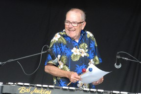 Bob Jenkins at Rotaryfest in July 2010.