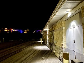 The town's water treatment plant on West Terrace Point. Patrick Gibson/Cochrane Times