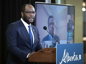 Justice Minister and Solicitor General Kaycee Madu. Photo by Chris Shwarz/Government of Alberta