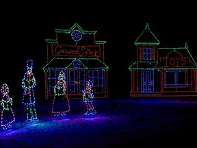 Due to overcrowding, the Airdrie Festival of Lights has enhanced COVID-19 restrictions. Photo by Kelsey Yates
