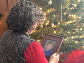 Handout/Chatham Daily News Volunteering for The Gift helped this local resident regain the Christmas spirit that was lost after her son passed away many years ago.