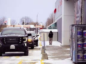 Ontario's provincial offences officers have visited more than 2,308 big-box stores and other essential retail businesses across the province in 2021. (Jordan Haworth/Postmedia News)