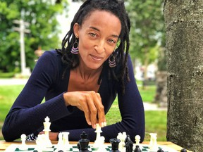Ingrid Gayle, founder of Girl Boss Chess, is hoping to open up a whole new world in for girls and women by teaching them chess on-line.   Supplied by Girl Boss Chess