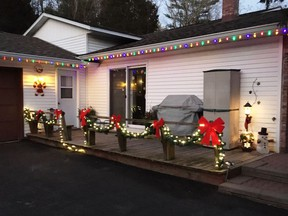 The Lansdowne Christmas Decorating Event is on now to bring light, colour and happiness to the village of Lansdowne and its environs. While not a contest, it is there for everyone to enjoy.   Supplied by Donna Dempsey