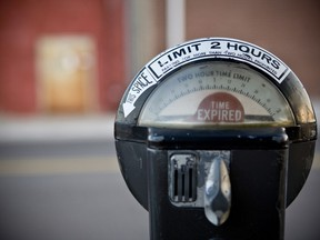 The free parking in Pembroke's downtown core pilot project is ending with paid parking returning on Jan. 1, 2021. Getty Images  Not Released