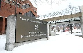 North Bay Courthouse. Nugget File Photo