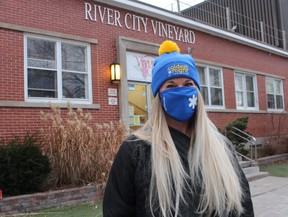Renee Card, with River City Vineyard in Sarnia, is organizing a fundraiser for the church's homeless shelter in February as part of the Coldest Night of the Year walk.