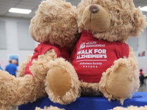 This year's Walk for Alzheimer's in Oxford will be a virtual event in May. (Chris Abbott/Norfolk and Tillsonburg News)