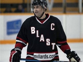 The Brantford Blast will not play this season due to COVID-19 but general manager Tony Falasca expects almost all of the team's players, including captain Sean Blanchard, to return for the 2021-22 Allan Cup Hockey season.
