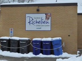 The City of Cornwall announced earlier this week that the Richelieu daycare, which currently has an enrollment of 22 children, will be closing its doors on June 20, 2021. Photo taken on Friday January 22, 2021 in Cornwall, Ont. Francis Racine/Cornwall Standard-Freeholder/Postmedia Network