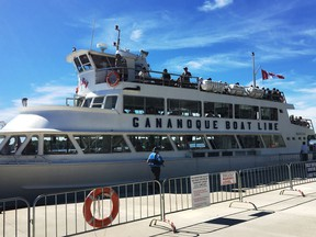 The Gananoque Boat Line has been purchased by Hornblower Cruises and Events.   Supplied by Neil McCarney.