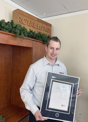 Landon Lavictoire from  Royal LePage Best Choice Realty Ltd recently won two significant awards.