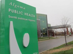 Photo Sault Star Algoma Public Health
