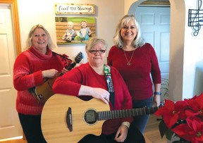 Photo supplied Women in Song, composed of Debbie Rivard, Lois Jones and Patty Dunlop, are about to release their first album, entitled 'Life of a Woman'. The CD features 13 original tracks covering a wide range of musical genres by the popular local trio.