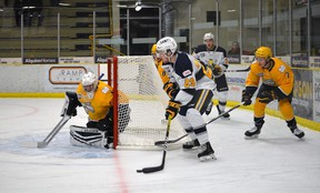 The AJHL is working with government and health officials on a plan to resume the regular season.