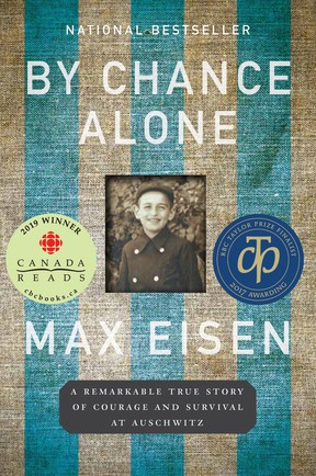 Holocaust survivor Max Eisen's memoir By Chance Alone is the 2021 selection for the County of Brant Public Library's annual One Book One Brant event.