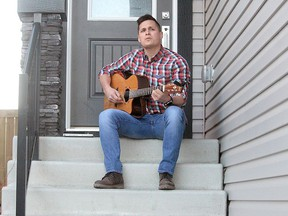"Local country musician, Stirling John has released a new song called, ""Believe"" to help raise mental health awareness. Photo by Evan J. Pretzer."