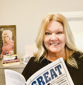 Jeanne Smitiuch is both a board member of Kids Can Fly and the regional director of Canada for the Dollywood Foundation.