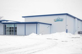 The brand new Thorndale Lions Community Centre in London, Ont. on Wednesday February 17, 2021. Derek Ruttan/The London Free Press/Postmedia Network