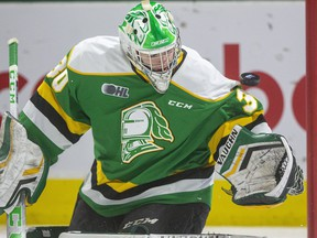 Brett Brochu of the London Knights. Mike Hensen/The London Free Press file photo