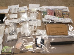 On Jan. 23, the Airdrie RCMP conducted a search warrant on a residence in Baywater and seized various drug paraphernalia. Submitted