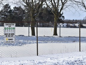 The City of Belleville is asking residents of Hillcrest neighbourhood to join a public online meeting Feb. 24 to field ideas for the development of the former Hillcrest Public School property into a community green space. DEREK BALDWIN