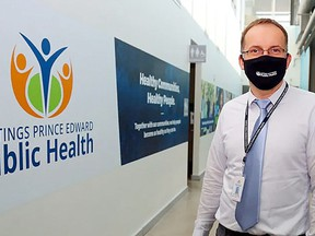 Dr. Piotr Oglaza, medical officer of health at Hastings-Prince Edward Health and his team announced three new lab-confirmed COVID-19 cases Wednesday, bringing the region's total active cases to 13 as the pandemic's second wave continues across the country. POSTMEDIA FILE PHOTO