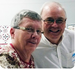 Sheila and WInston Jibb were added as life members to the Mitchell & District Agricultural Society during their annual meeting Feb. 11.