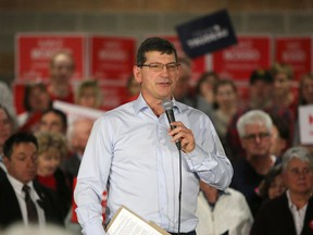 Mike Bossio will run once again as Liberal candidate in Hastings–Lennox and Addington in the next federal election. Bossio first won the riding in 2015 but lost it to Conservative Derek Sloan in 2019. He's pictured at a Liberal event in Napanee on Dec. 19, 2018.