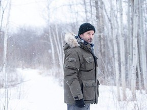 Billy Campbell appears as Det. John Cardinal in Cardinal. The show was shot in North Bay and Sudbury.  CNW Group/CTV Photo