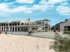 The Port Elgin Beach Preservers said the results of its online public survey on the  Cedar Crescent Village project, shown in in this concept drawing, should be considered by Town council.