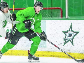 Sault Ste. Marie native Nick Porco is at the training camp of the Texas Stars, who are the AHL affiliate of the NHL's Dallas Stars. SPECIAL TO SAULT THIS WEEK