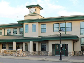 Town Hall in Stony Plain. File Photo.